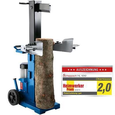 Scheppach HL1010 Holzspalter Brennholzspalter Hydraulikspalter 10 t 400 V