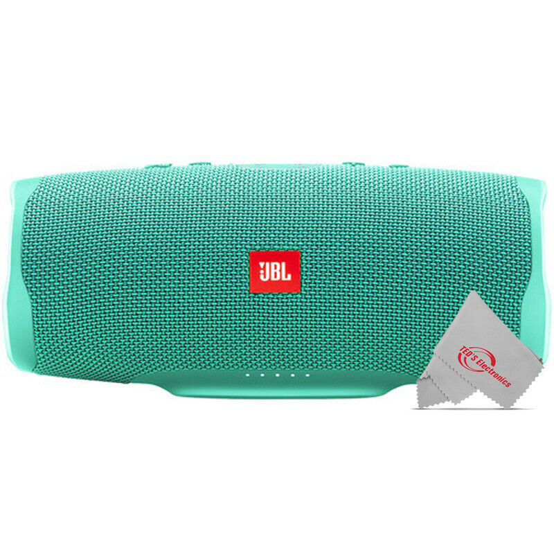 JBL Charge 4 Portable Bluetooth Speaker (Teal)