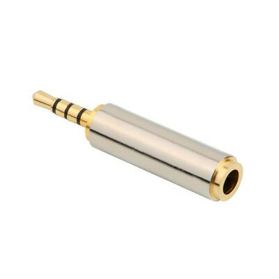 2,5 Mm Klinke (Audio Adapter 3,5mm Buchse auf 2,5mm Klinke Stecker Stereo Audio Konverter)
