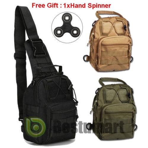 Bag - Men Backpack Molle Tactical Sling Chest Bag Assault Pack Messenger Shoulder Bag
