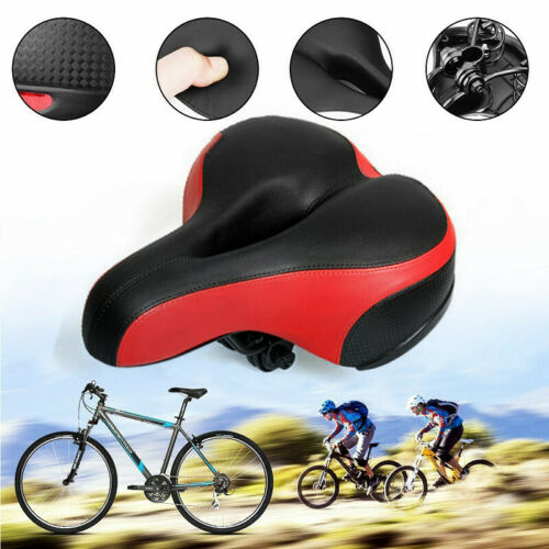 Comfort Wide Big Bum Bike Bicycle Gel Cushion Extra Sporty Soft Pad Saddle Seat Bicycle Components & Parts