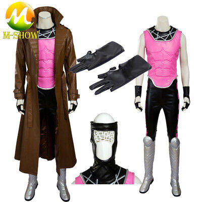 Gambit Costume Halloween (Gambit X-Men Cosplay Costume Remy Etienne Cosplay for Halloween Gambit)