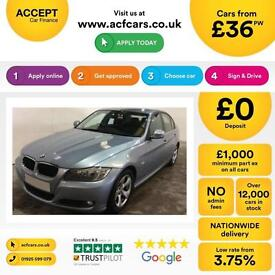 BMW 320 2.0TD 2010.5MY d EfficientDynamics FROM £36 PER WEEK!
