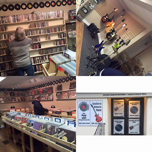 1000's of great vinyl records, cd's, dvd's, turntables etc