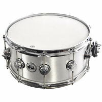 DW 14 x 6.5 Aluminum Wrinkle Snare Drum -  like new