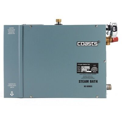 Coasts KSA60 Steam Generator for Home Saunas 6KW 240V with KS-200A Controller, used for sale  Shipping to India