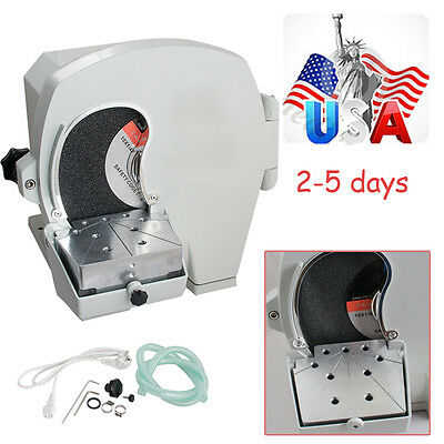 500w Dental Lab Wet Model Shaping Trimmer Abrasive Disc Wheel Plaster 2800 Rpm A