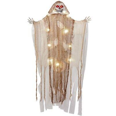 LEUCHTENDER SENSEMANN TOD MIT LEUCHTENDEN ROTEN LED AUGEN 170 cm - Halloween