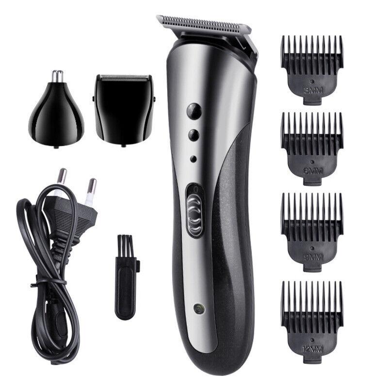 2021 Hair Clippers Cordless Trimmer Shaving Machine Cutting Barber Beard EU PLUG