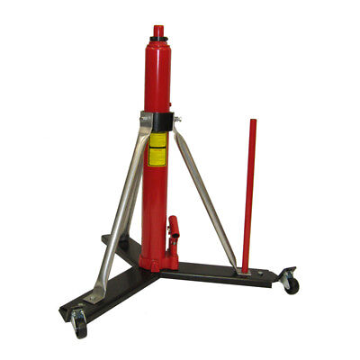 "MODEL #838HLW - 8 Ton Alpha Aviation High Lift Aircraft Jack - 25"" of Ram Travel"