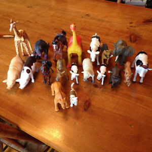 Assorted Toy Animals