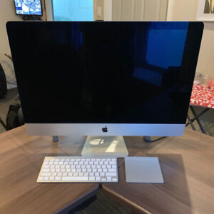 "iMac 5K  27"" -   24gb RAM  /  4GHz i7  /  AMD Radeon 4GB  /  SSD"