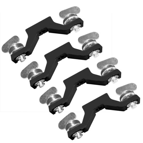 """4pcs Moving Head Light Bridge Clamp 5.5"""" Connector Spacing, Mounting Hole 12.5mm"""