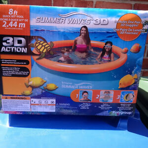 8' Inflatable Pool