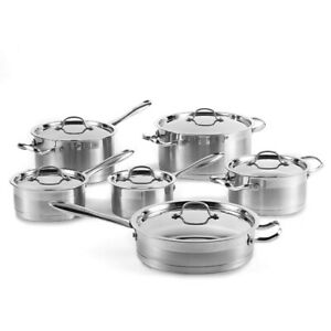 Urgent sale: Lagostina 12pc Stainless Steel Cookware Set