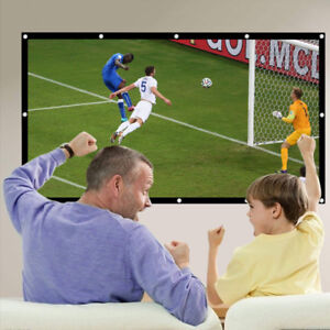 120 Inch Portable Projector Screen HD (New)