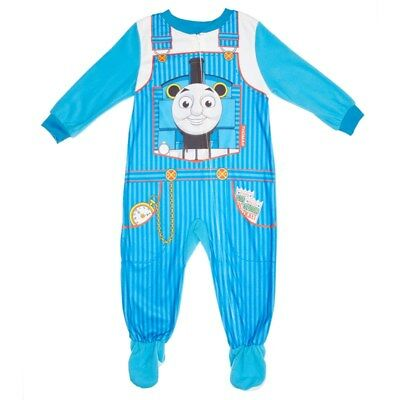 NWT Thomas the Train & Friends Boys Costume Footed Blanket Sleeper Pajama 2T 24M (Thomas The Train Costume 2t)
