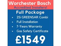 Worcester, Vaillant, Main & Ideal Accredited Boiler Installation,Repair&Service/Gas Safe Certificate