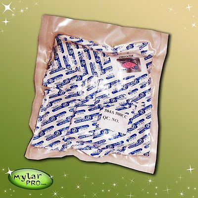 50 500cc Oxygen Absorbers for Mylar Bags #10 Cans Long Term Food Storage O2 CC (Long Term Storage)