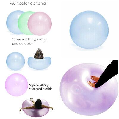 Oversized Inflatable Balls (Inflatable Ball Toy Bubble Ball Transparent Beach Ball Water Balloon Oversized)