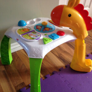 Bilingual Baby Play Table for sale