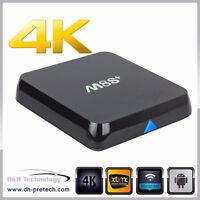 ANDROID SMART TV HD QUAD-CORE- Programmation complete M8s-M8-MXQ