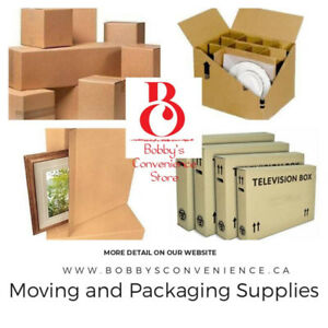 PACKING AND MOVING SUPPLIES - MAKES MOVING EASY!