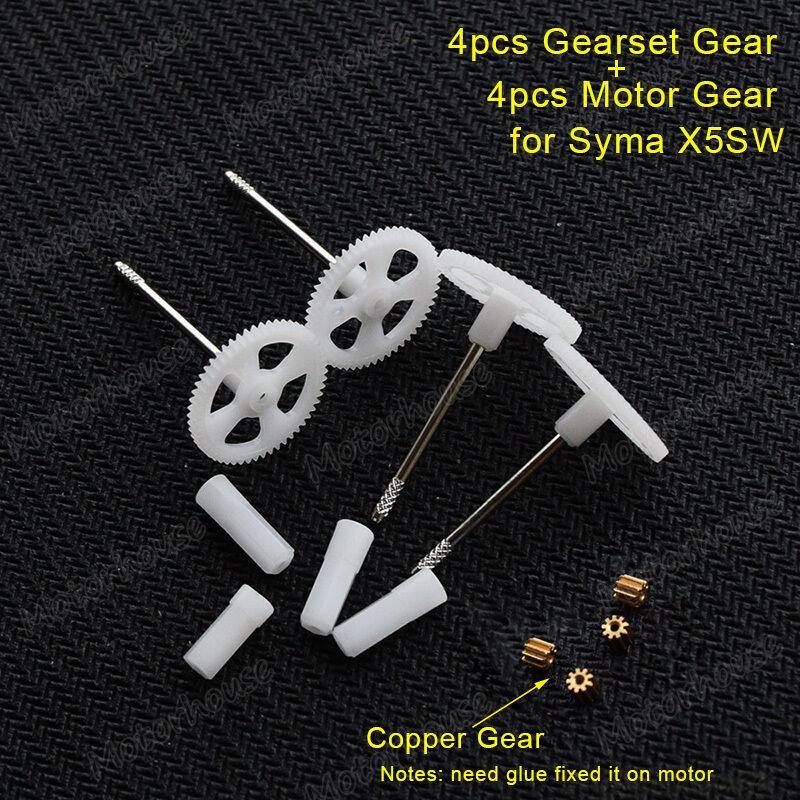 1Syma X5SW RC Drone Quadcopter Spare parts Copper motor gear gears wheel set