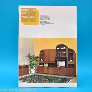 ddr m bel und wohnraum 8 1989 holzindustrie halberstadt wohnprogramm falkensee ebay. Black Bedroom Furniture Sets. Home Design Ideas