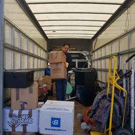 Removals service Man and van London movers office Relocation