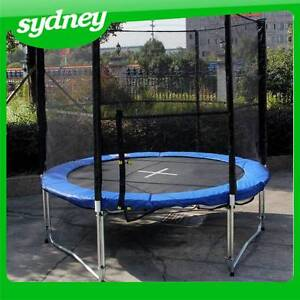 Brand New 8,10,12,14,16ft Round Family Trampoline with Enclosure Matraville Eastern Suburbs Preview