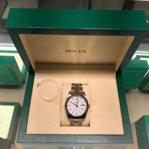 Rolex Datejust 41mm, White Stick Dial