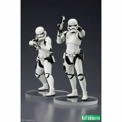 Star Wars 1:10 First Order Stormtrooper ArtFX+ 2 pack statue set Kotobukiya - Of