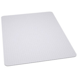 office chair mat carpet protector 36 39 39 x 48 39 39 clear vinyl