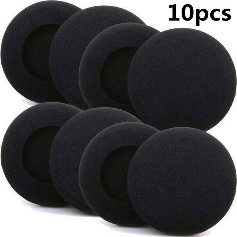 10x Soft Foam Pads Ear Pad Cushion Sponge Earpads-Headphone