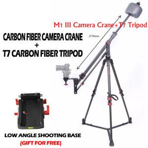 iFootage M1-III Mini Crane with Wild Bull T7 Tripod Kit