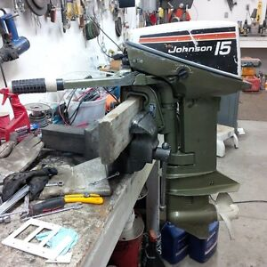 Johnson 15hp Outboard Motor (Sold pending payment)