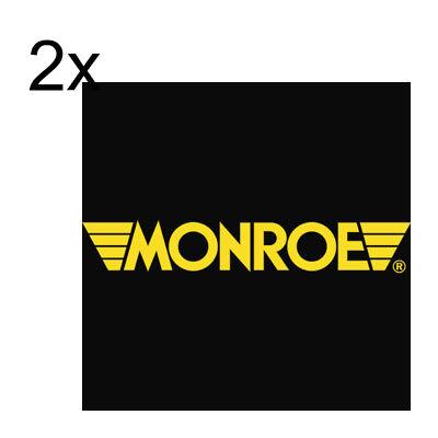 2x MONROE FAHRWERKSFEDER SPIRALFEDER MONROE SPRINGS HINTERACHSE SKODA FABIA