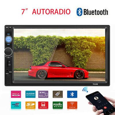 "7"" HD Autoradio Touch Screen 2DIN Car Stereo Bluetooth/USB/TF/FM/AUX MP5 Player"