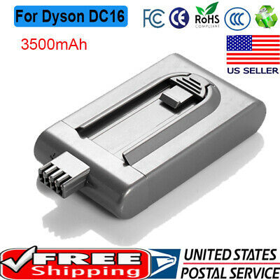 3500mAh 21.6V Battery Replacement For Dyson DC16 Root 6 BP-01 12097 912433-03