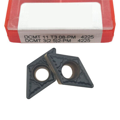 Dcmt11t308-pm 4225 Threading Carbide Inserts Cutting Tool For Lathe Cnc 10p
