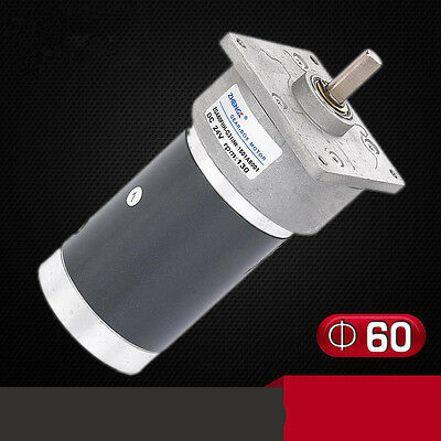 Zga60fhh-g Gear Motor 60mm Miniature Dc Gear Motor 12v 24v Output Shaft