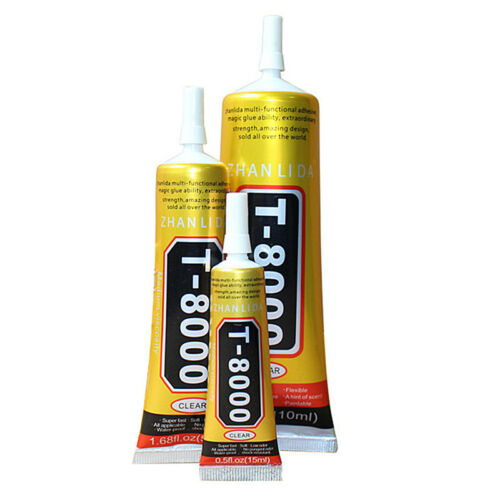15ml Glue T-8000 Clear Epoxy Resin Sealant Craft Industrial