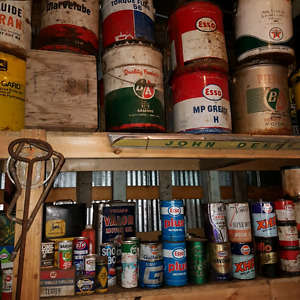 Large amount of antique cans Strathcona County Edmonton Area image 2