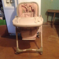 High chair new condition