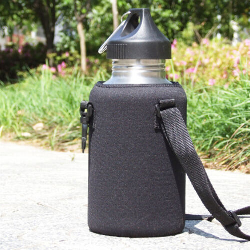 Outdoor 2000ML Water Bottle Carrier Insulated Cover Bag Pouch Holder Pouch MP