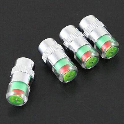 32 Psi Car Tyre Pressure Monitor Valve Stem Alert Cap Sensor Indicator Fit All