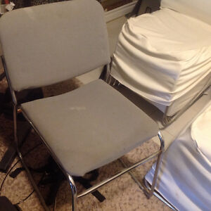 5 chairs with cover for sale. London Ontario image 2