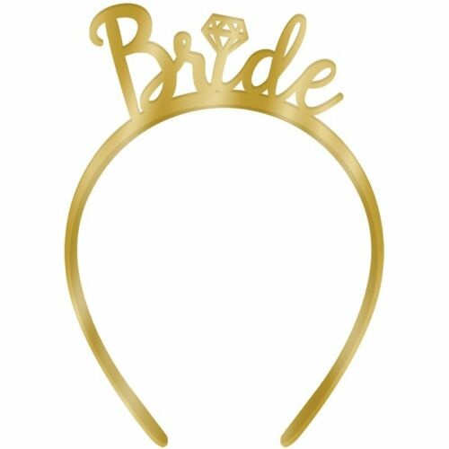 Bride to Be Headband For Hens Night Party Bridal Shower Bachelorette Tiara Crown