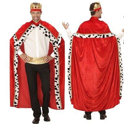Königs Umhang mit Krone - M/L (46-52) - Biblischer König Königin - Biblische Kostüm